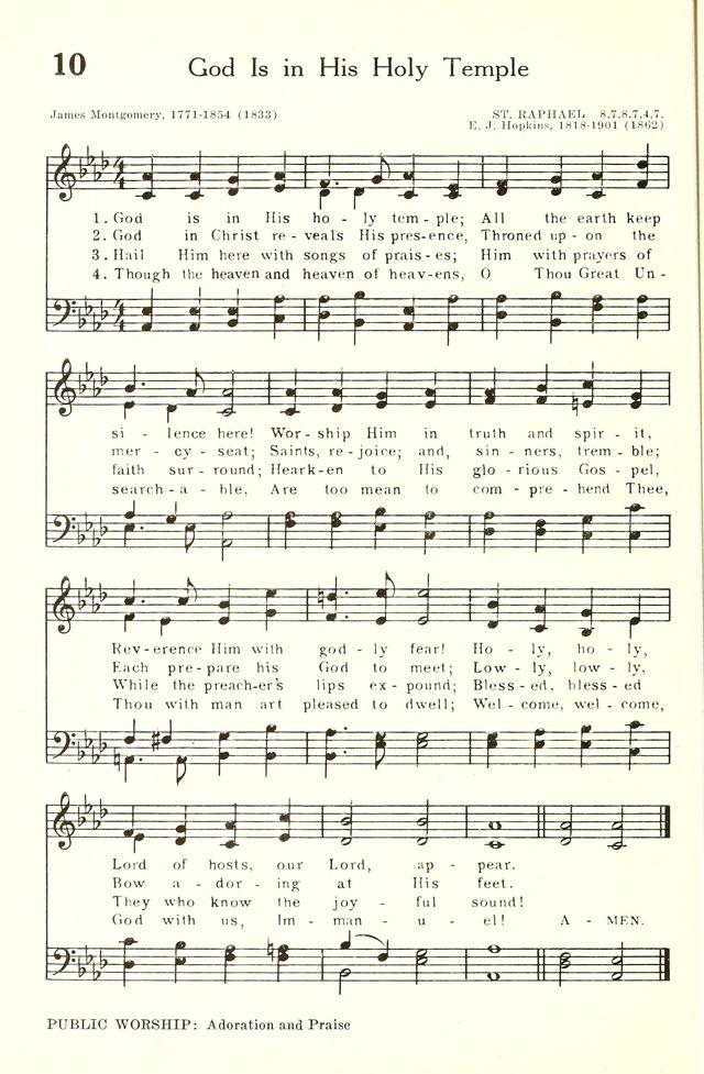 Hymnal and Liturgies of the Moravian Church page 213