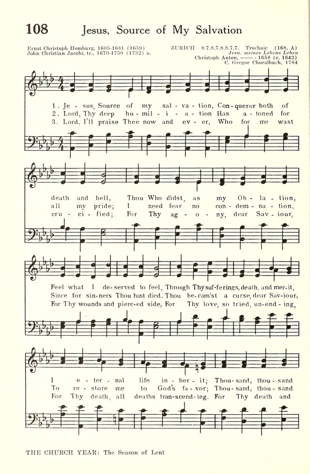 Hymnal and Liturgies of the Moravian Church page 307