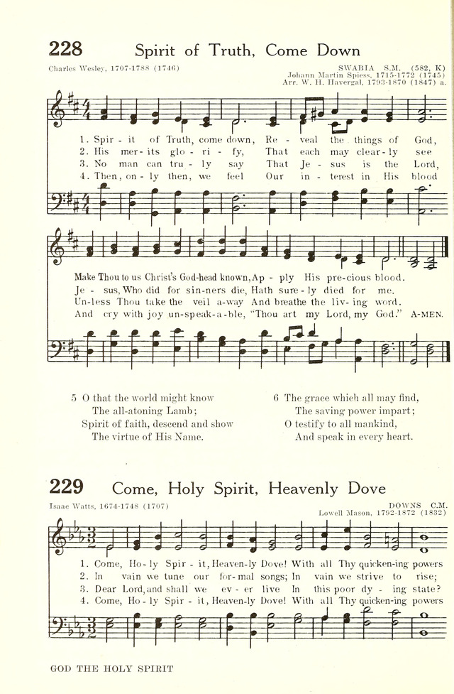 Spirit of Faith, Come Down | Hymnary org