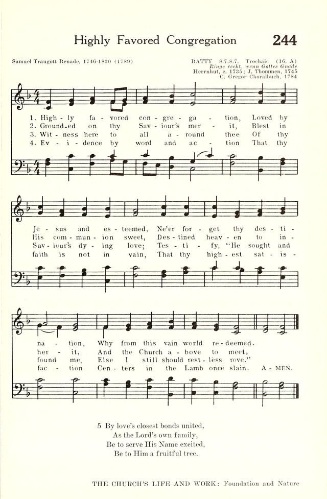 Hymnal and Liturgies of the Moravian Church page 444