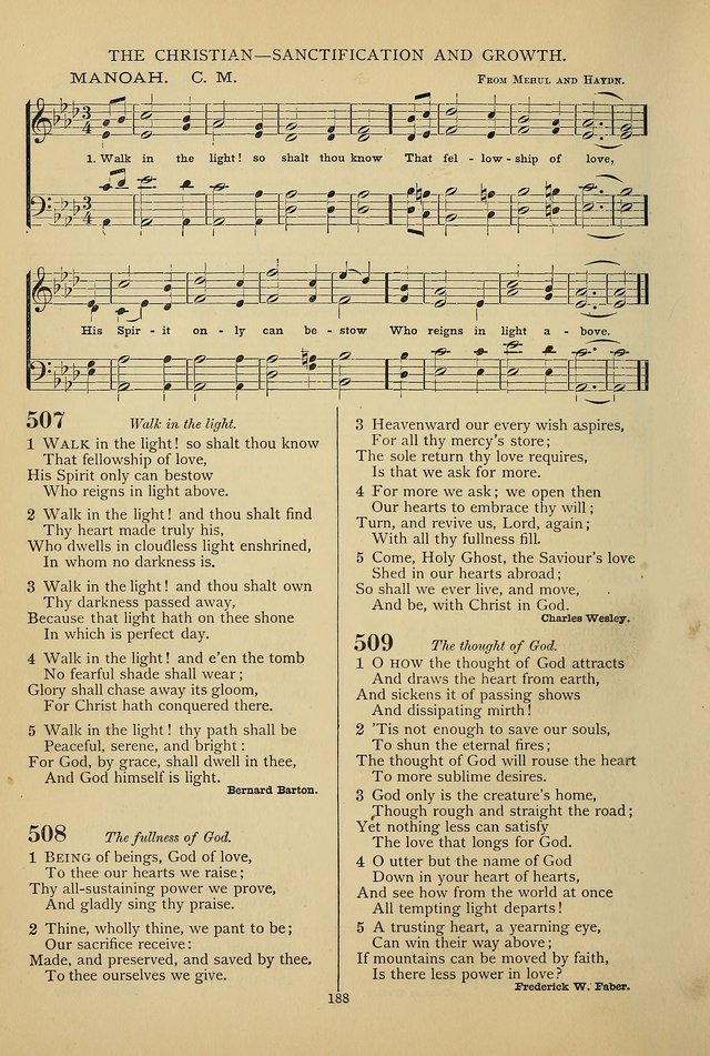 Hymnal of the Methodist Episcopal Church page 185
