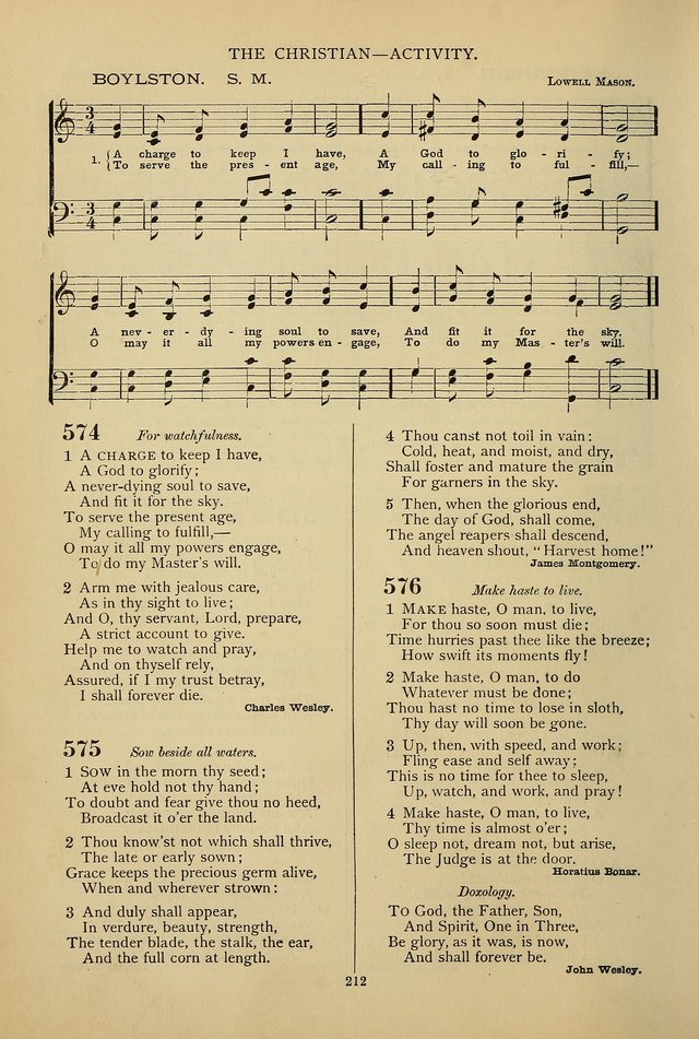 Hymnal of the Methodist Episcopal Church page 209