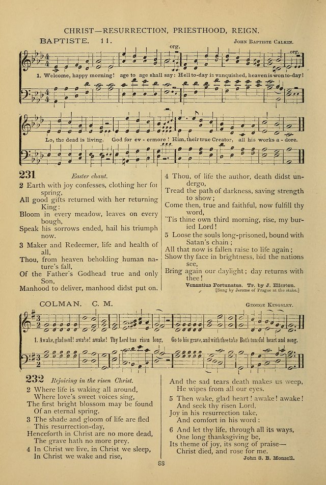 Hymnal of the Methodist Episcopal Church page 85