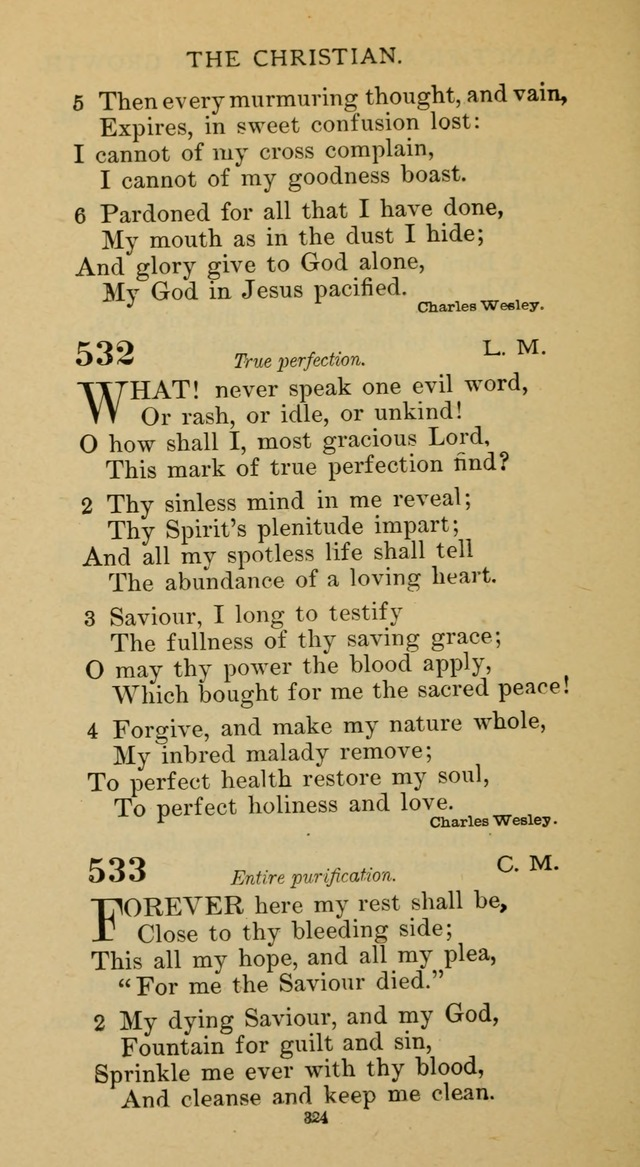 Hymnal of the Methodist Episcopal Church page 324