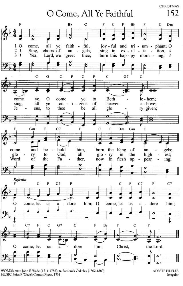 O Come, All Ye Faithful - Hymnary.org