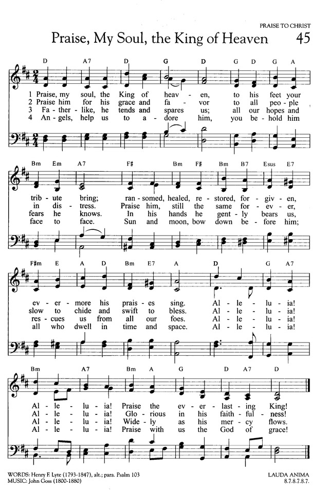 Hymns of Promise: a large print songbook page 51