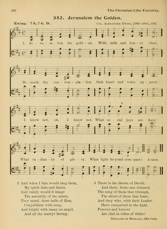 Hymnal and Order of Service: for churches and Sunday-schools