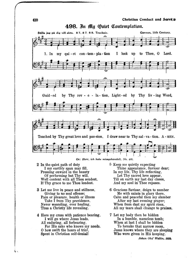 The Hymnal and Order of Service page 410