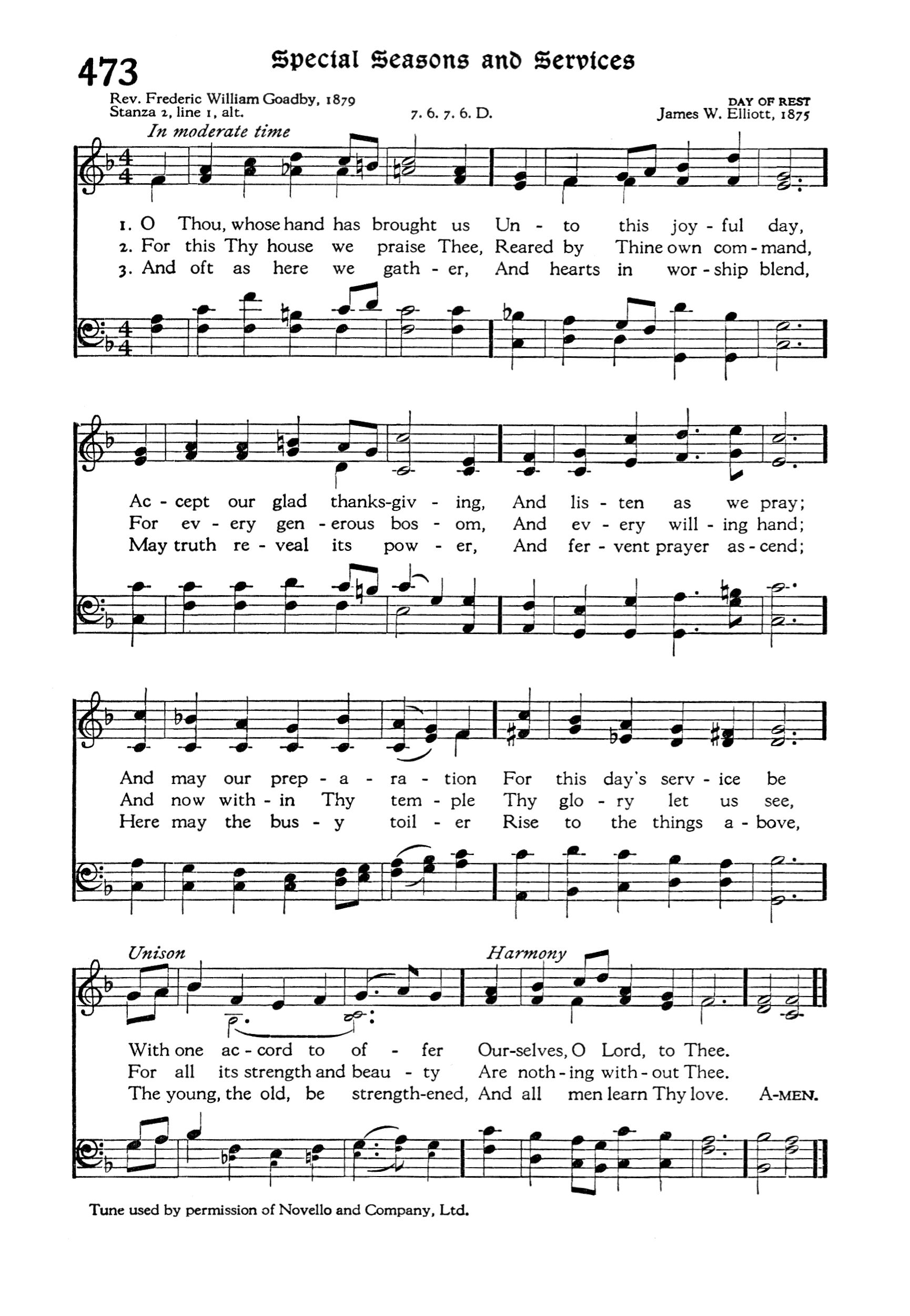 The Hymnal page 474 | Hymnary org