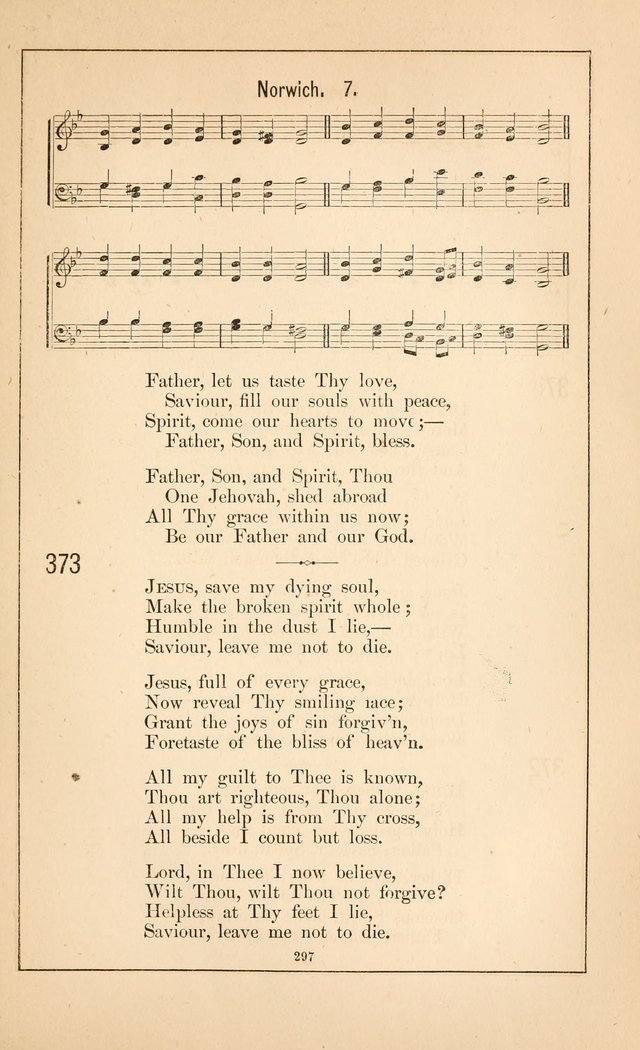 Hymnal of the Presbyterian Church page 295