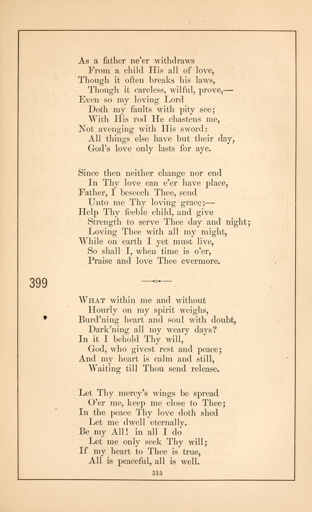 Hymnal of the Presbyterian Church page 313