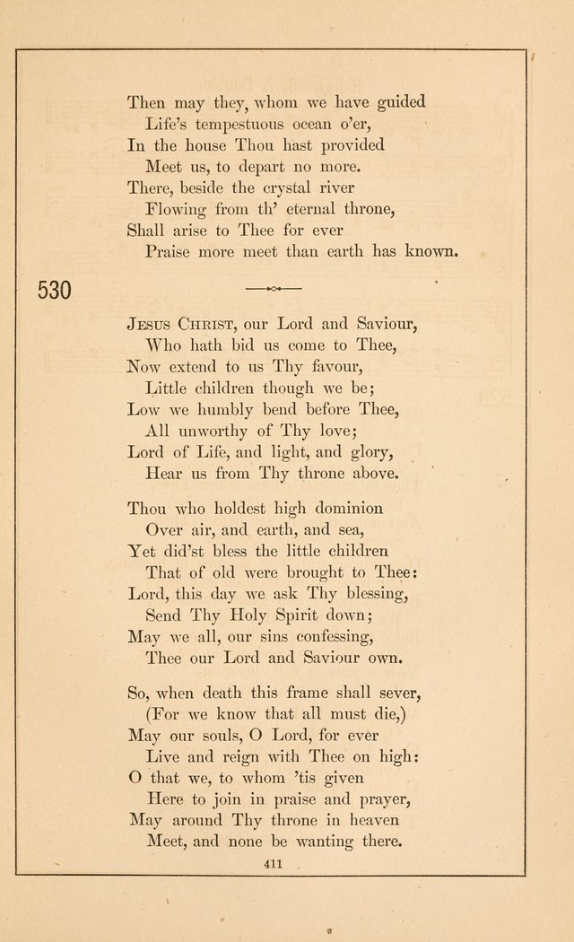 Hymnal of the Presbyterian Church page 409