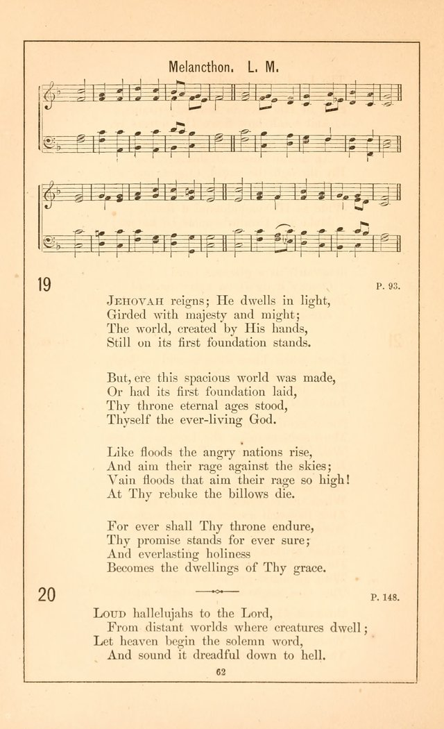 Hymnal of the Presbyterian Church page 60