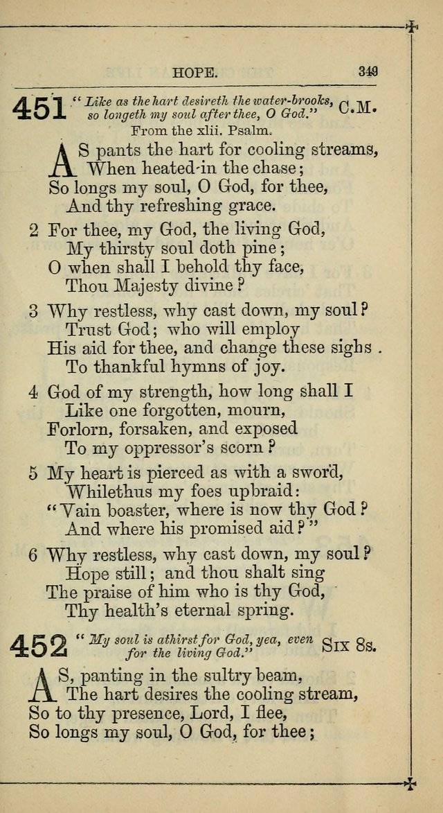 Hymnal: according to the use of the Protestant Episcopal Church in the United States of America : Revised edition (1874) page 364