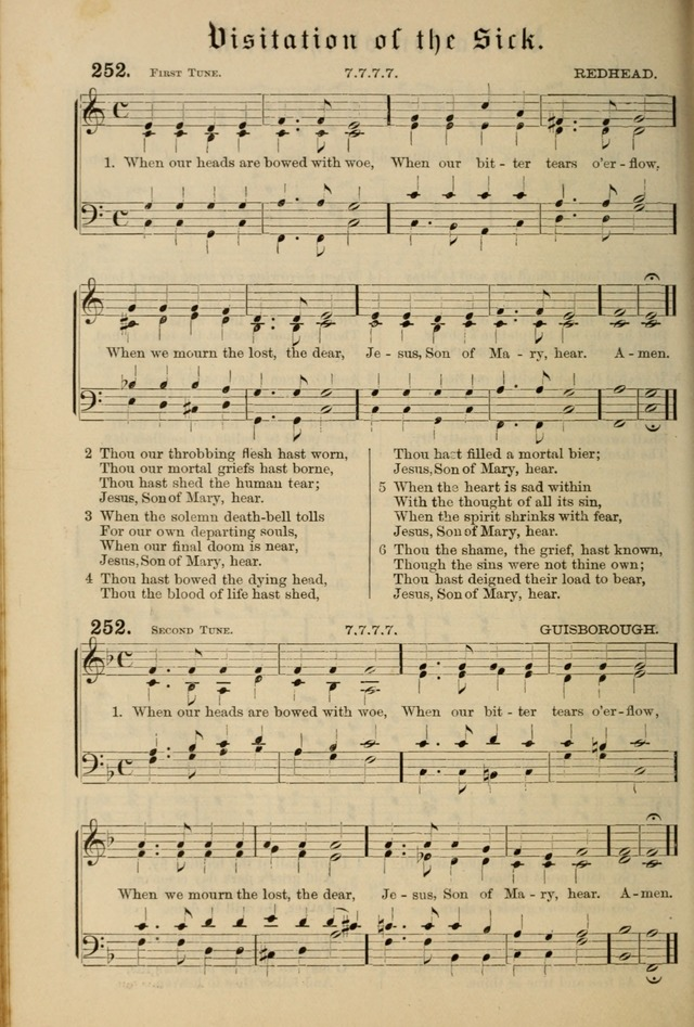 Hymnal and Canticles of the Protestant Episcopal Church with Music (Gilbert & Goodrich) page 222