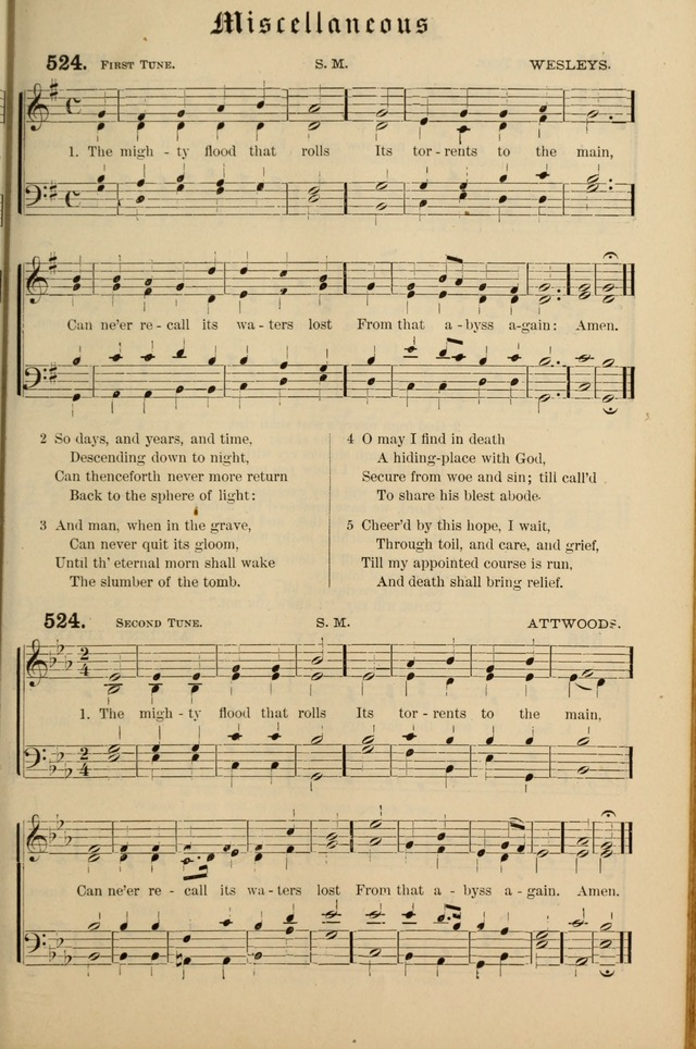 Hymnal and Canticles of the Protestant Episcopal Church with Music (Gilbert & Goodrich) page 439