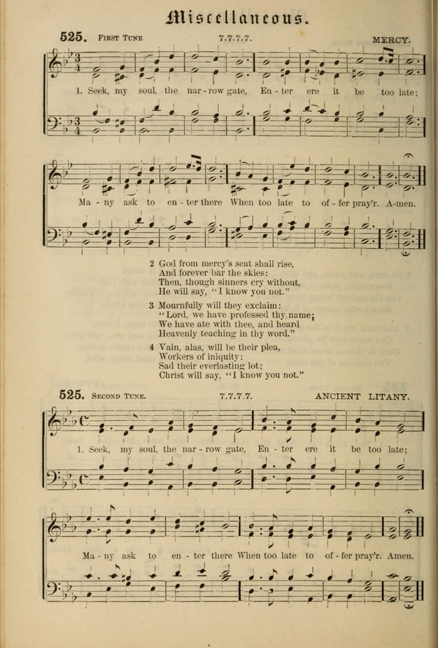 Hymnal and Canticles of the Protestant Episcopal Church with Music (Gilbert & Goodrich) page 440