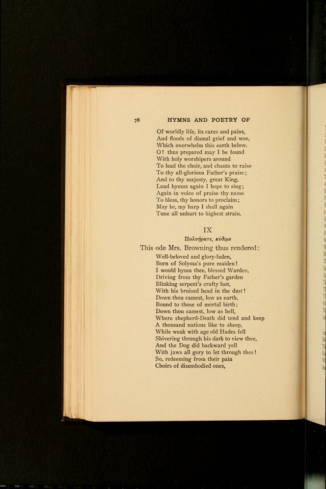Hymns and Poetry of the Eastern Church page 67