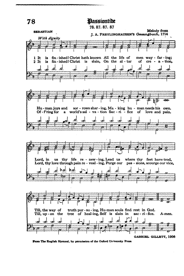 The Hymnal of the Protestant Episcopal Church in the United States of America 1940 page 100