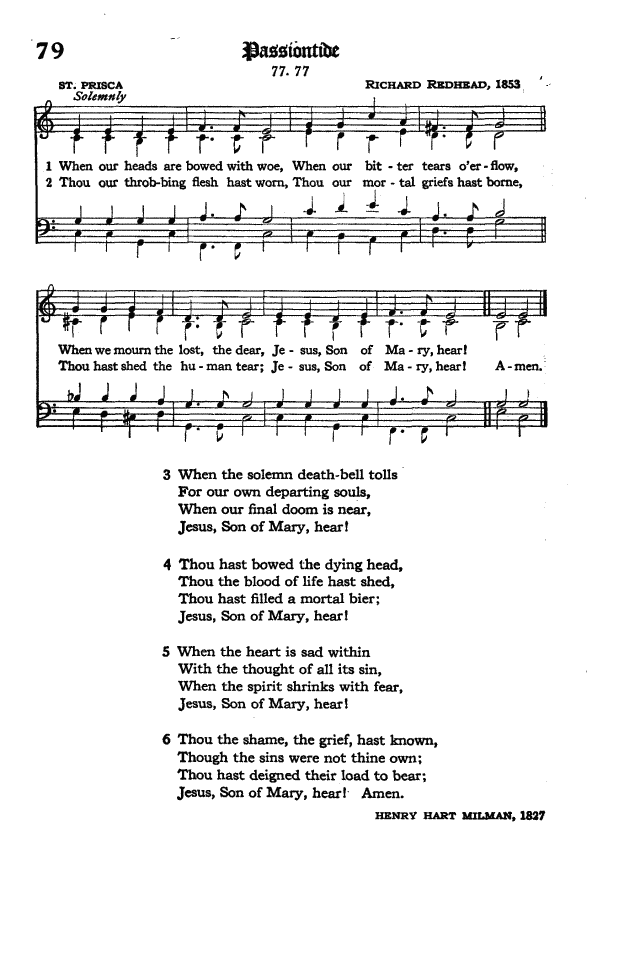 The Hymnal of the Protestant Episcopal Church in the United States of America 1940 page 101