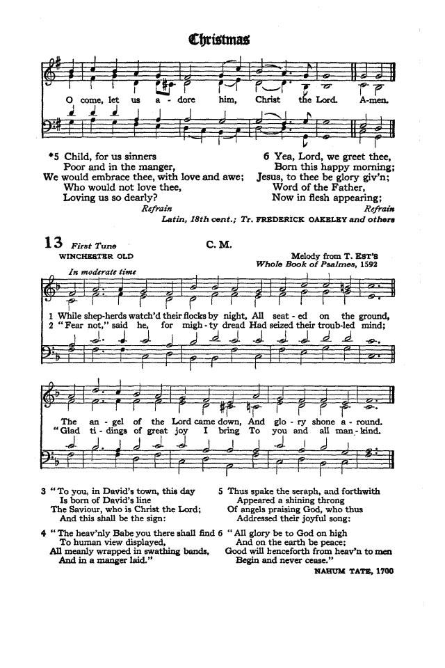 The Hymnal of the Protestant Episcopal Church in the United States of America 1940 page 17