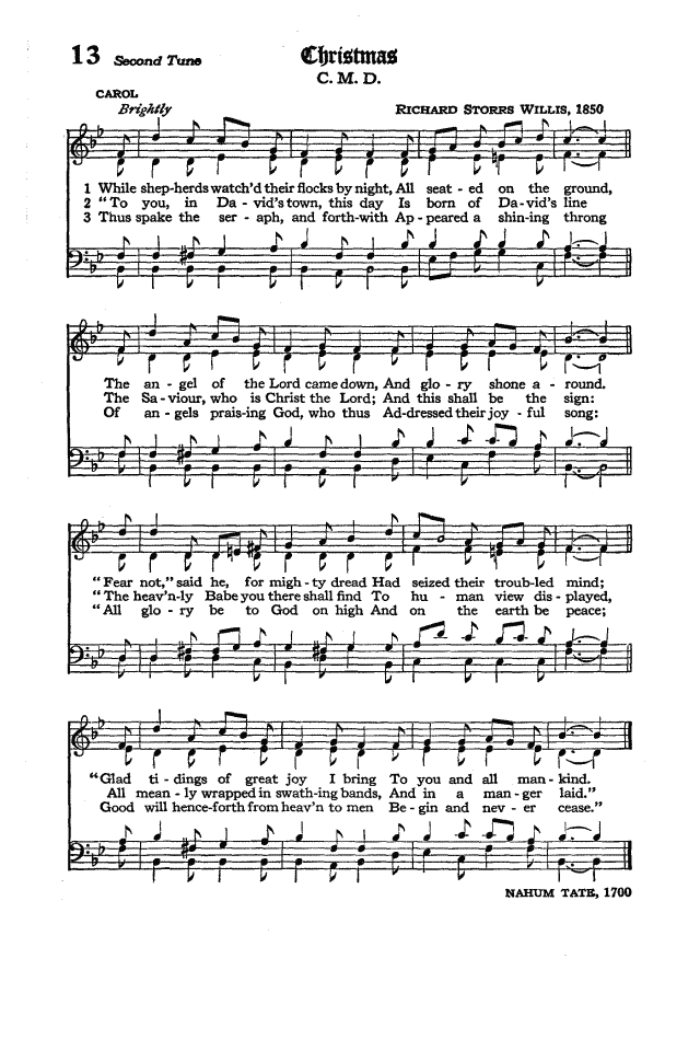 The Hymnal of the Protestant Episcopal Church in the United States of America 1940 page 18