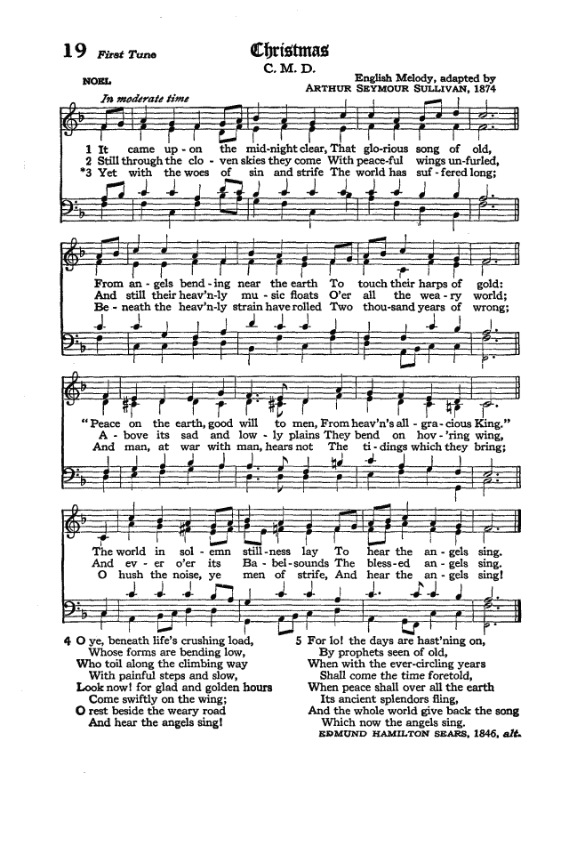 The Hymnal of the Protestant Episcopal Church in the United States of America 1940 page 26
