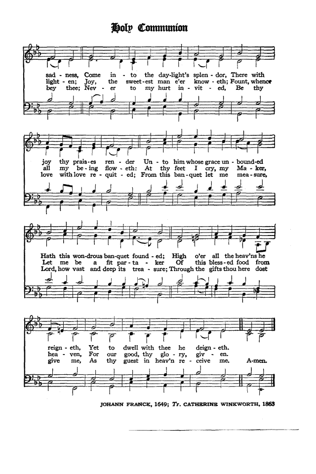 The Hymnal of the Protestant Episcopal Church in the United States of America 1940 page 267