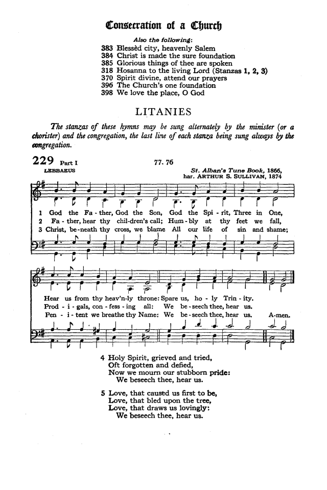 The Hymnal of the Protestant Episcopal Church in the United States of America 1940 page 290