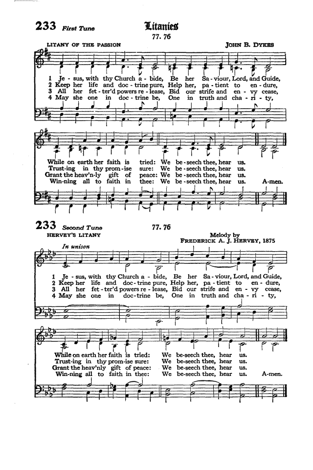 The Hymnal of the Protestant Episcopal Church in the United States of America 1940 page 294