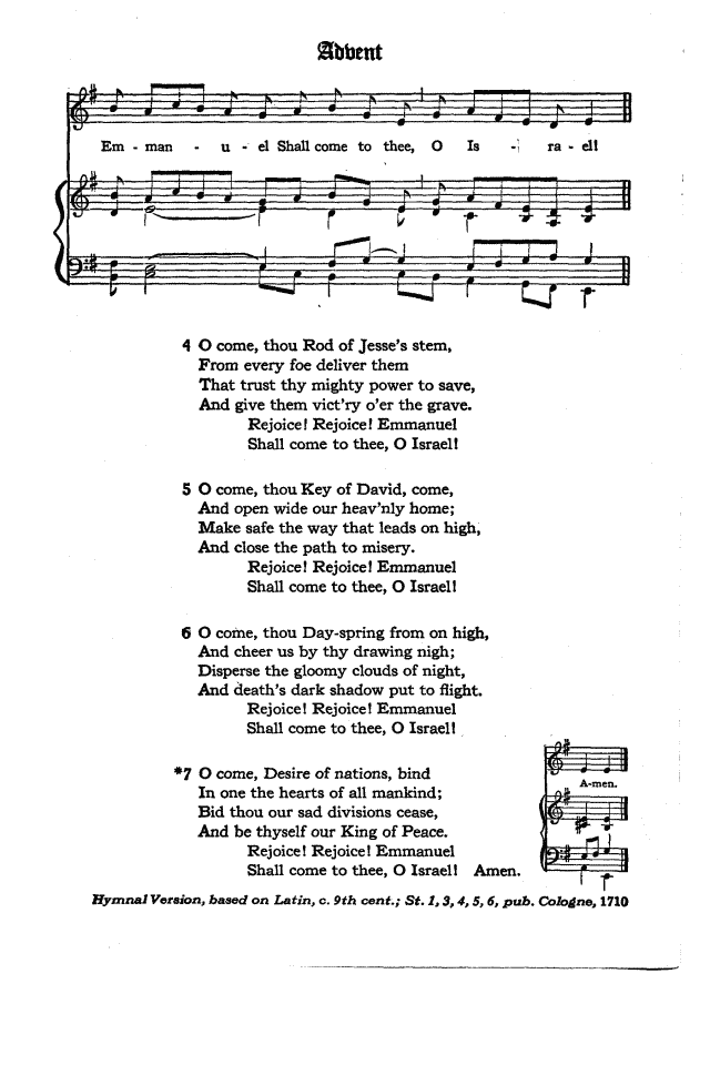 Lyric emmanuel lyrics : The Hymnal of the Protestant Episcopal Church in the United States ...
