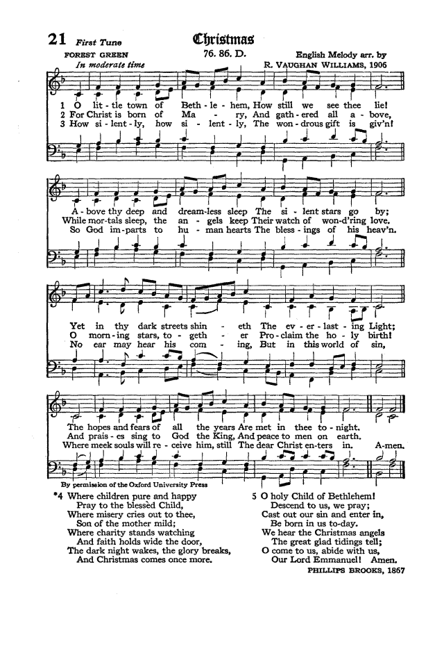 The Hymnal of the Protestant Episcopal Church in the United States of America 1940 page 30