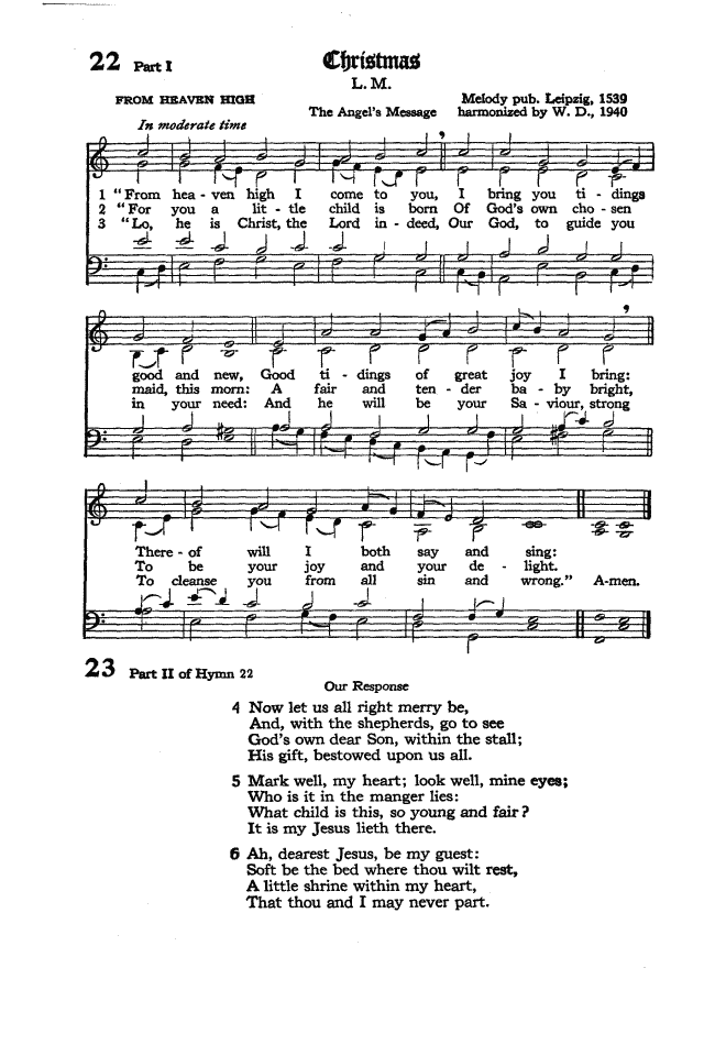 The Hymnal of the Protestant Episcopal Church in the United States of America 1940 page 32