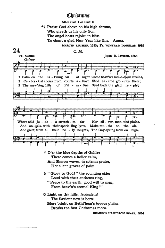 The Hymnal of the Protestant Episcopal Church in the United States of America 1940 page 33