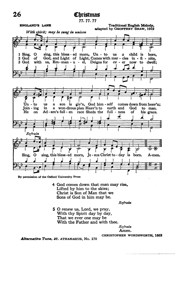 The Hymnal of the Protestant Episcopal Church in the United States of America 1940 page 35