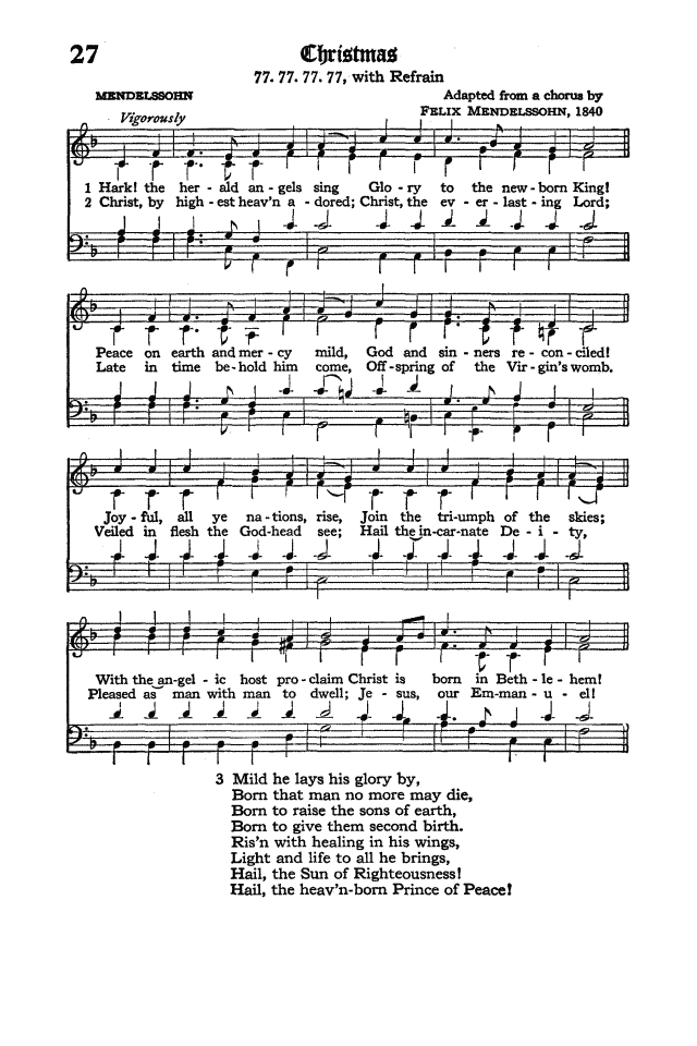 The Hymnal of the Protestant Episcopal Church in the United States of America 1940 page 36