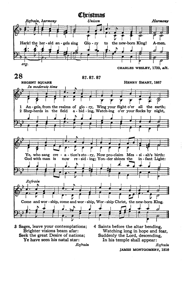The Hymnal of the Protestant Episcopal Church in the United States of America 1940 page 37