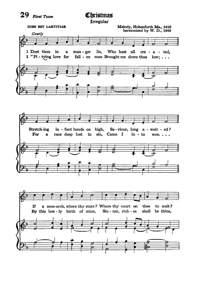 The Hymnal of the Protestant Episcopal Church in the United States of America 1940 page 38