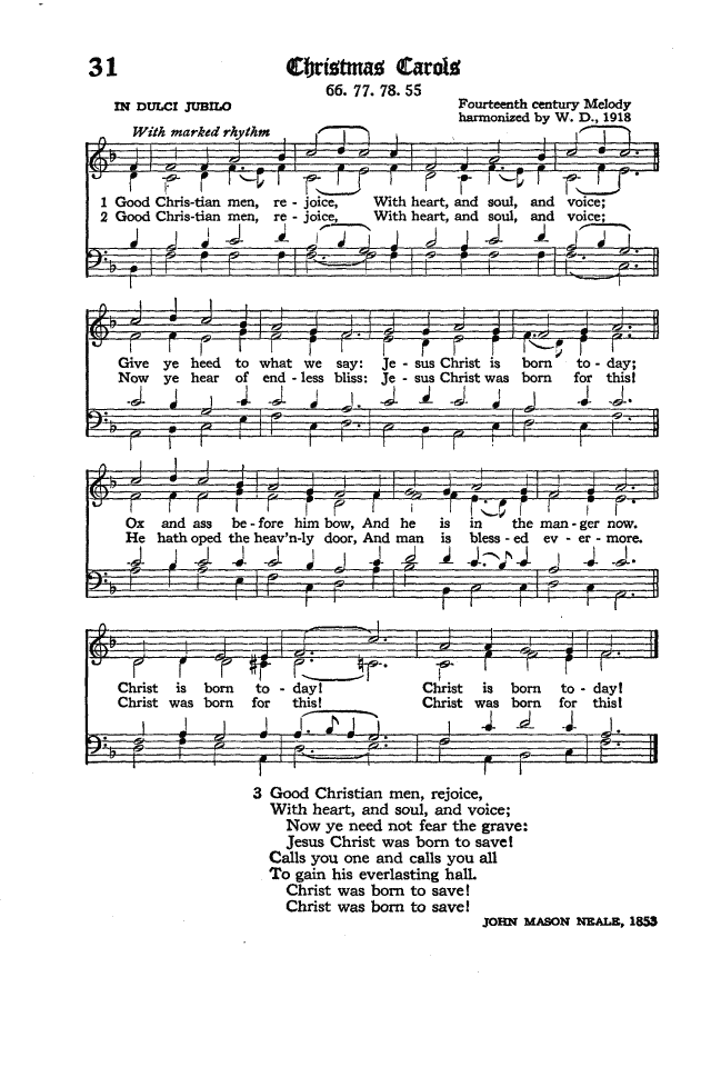 The Hymnal of the Protestant Episcopal Church in the United States of America 1940 page 44