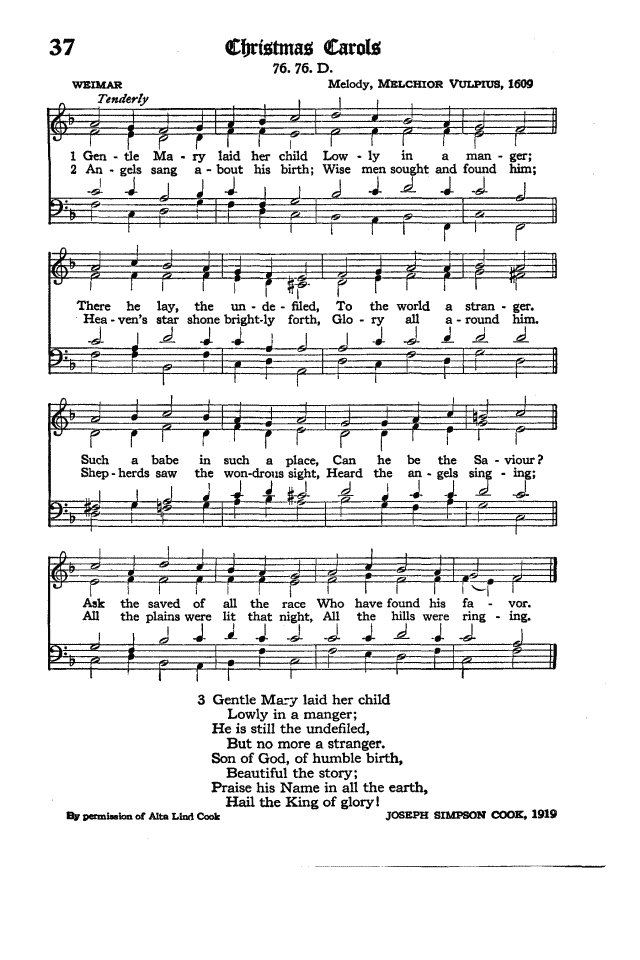 The Hymnal of the Protestant Episcopal Church in the United States of America 1940 page 49