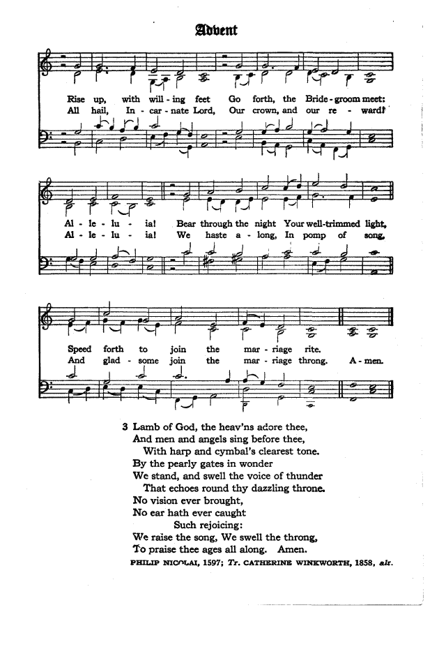 The Hymnal of the Protestant Episcopal Church in the United States of America 1940 page 5
