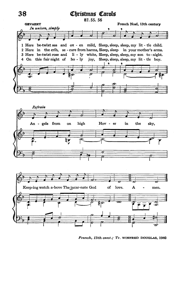 The Hymnal of the Protestant Episcopal Church in the United States of America 1940 page 50