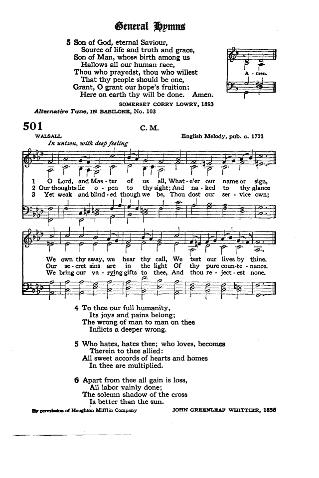 The Hymnal of the Protestant Episcopal Church in the United States of America 1940 page 579