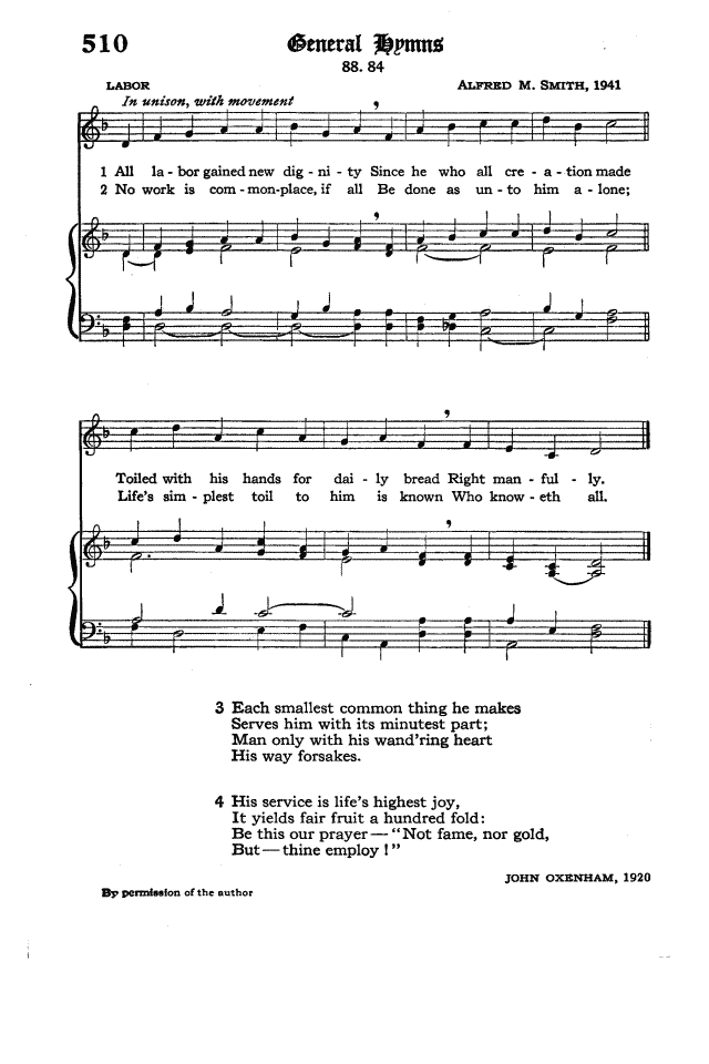 The Hymnal of the Protestant Episcopal Church in the United States of America 1940 page 588