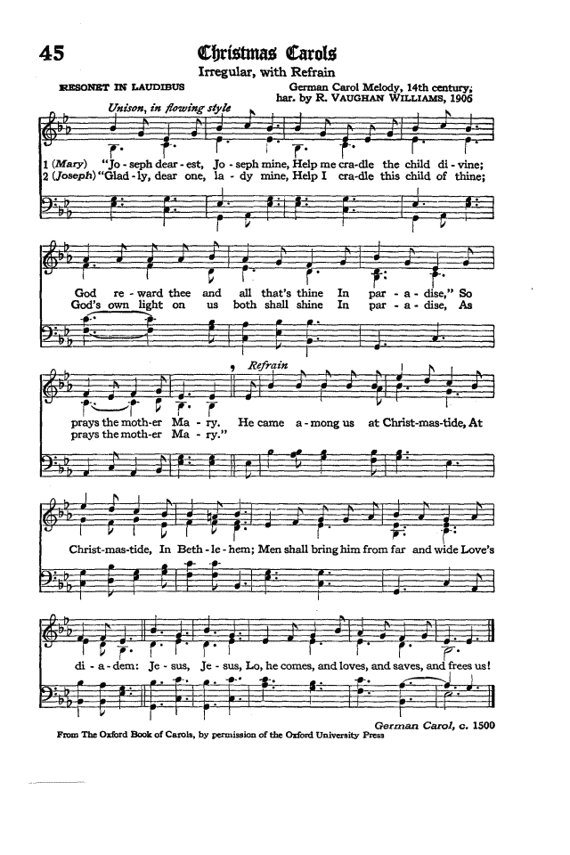 The Hymnal of the Protestant Episcopal Church in the United States of America 1940 page 59