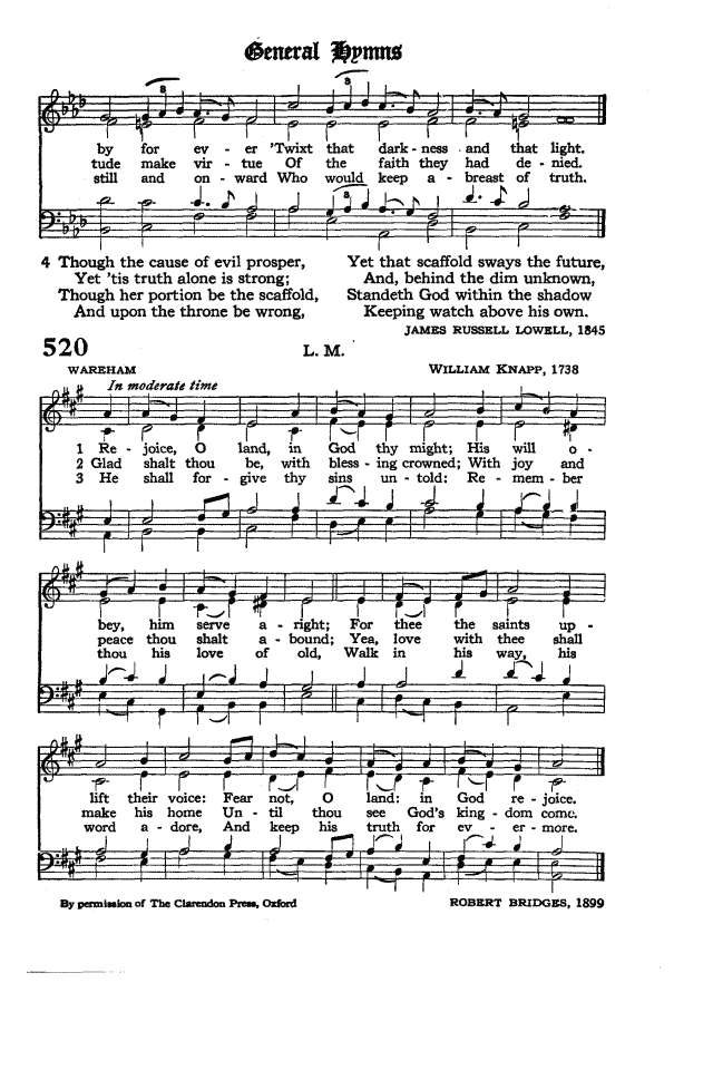 The Hymnal of the Protestant Episcopal Church in the United States of America 1940 page 597