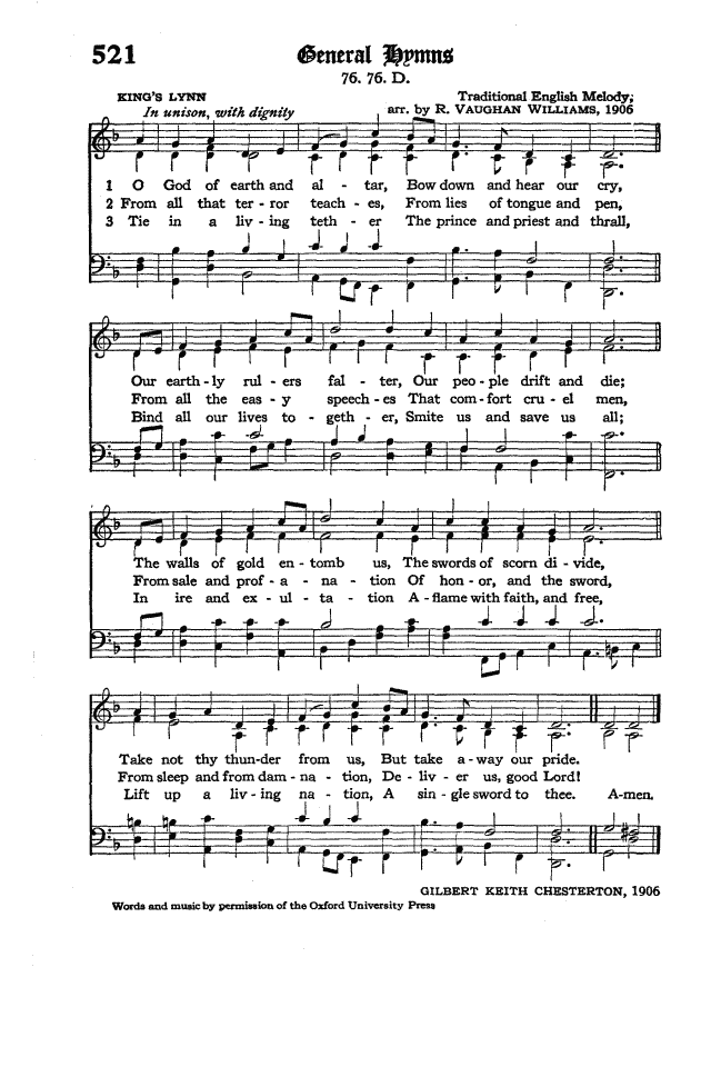 The Hymnal of the Protestant Episcopal Church in the United States of America 1940 page 598