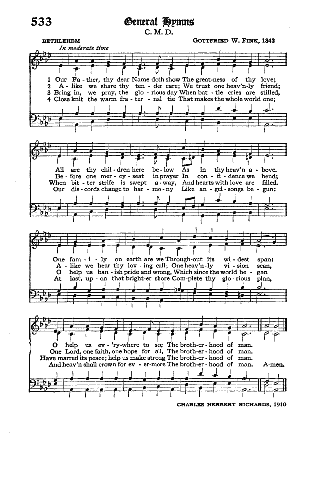 The Hymnal of the Protestant Episcopal Church in the United States of America 1940 page 612