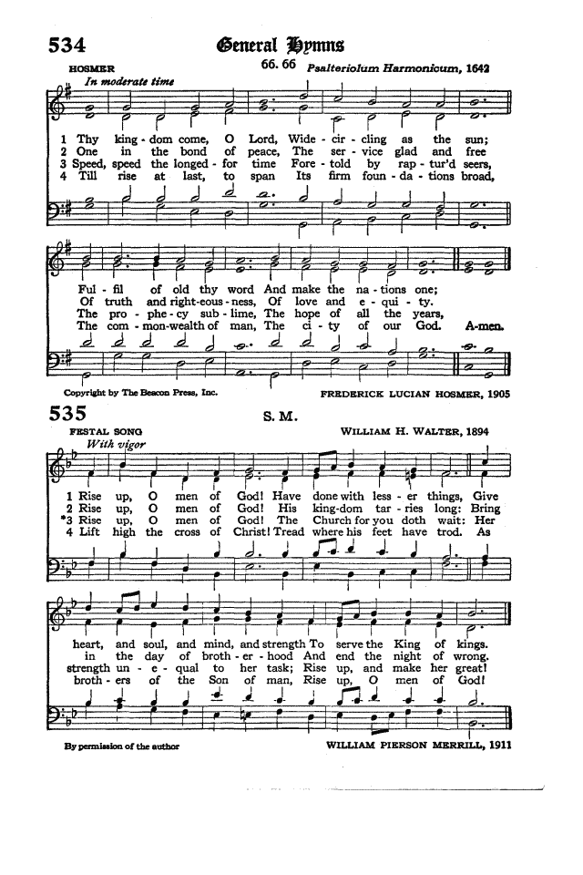 The Hymnal of the Protestant Episcopal Church in the United States of America 1940 page 613