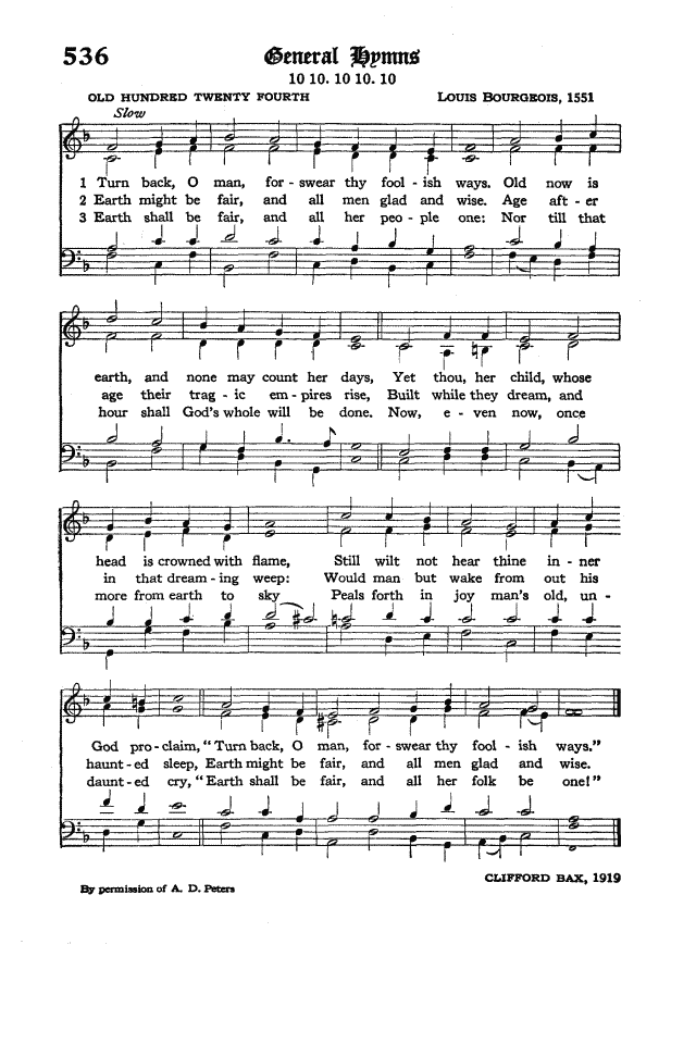 The Hymnal of the Protestant Episcopal Church in the United States of America 1940 page 614